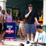 #olympiad #charity #ukhighcommission #barbados #london2012 #sportrelief