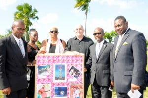 """Thanks to the """"Friends of Froggy"""", and all those who attended today's ceremony, Phylis Collymore-Alleyne's artistic contribution to the cultural heritage of Barbados will be remembered"""