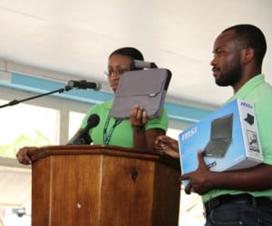 #technology #nevis #laptops #youth #education
