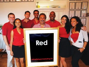 Red advertising&marketing Ltd. is the Caribbean's most creatively awarded agency set up in 2002 by principals Jevan Jutagir, Greg Marshall and Maurice Foster. Its contact is Jevan Jutagir 1-246-228-4000