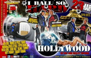 Tigga from Hollywood Family and the Hittman put together this one for de Ballerz!