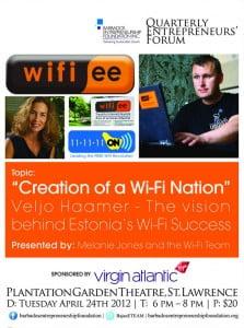 #barbados #entrepreneurs #wifi #estonia #warchalking