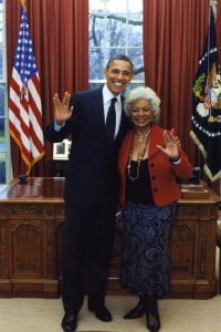 #startrek #obama #whitehouse #republicans #secular #nicholls #uhura