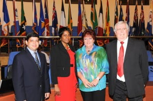 Partners for the April 18th Green Investment forum included One Caribbean Television, CaribPR Wire and News Americas Now.