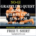 grappling tournament June 3 2012