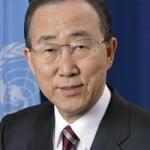 Ban Ki-moon is Secretary-General of the United Nations
