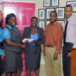 Photo Student team wins UWI business plan competition2