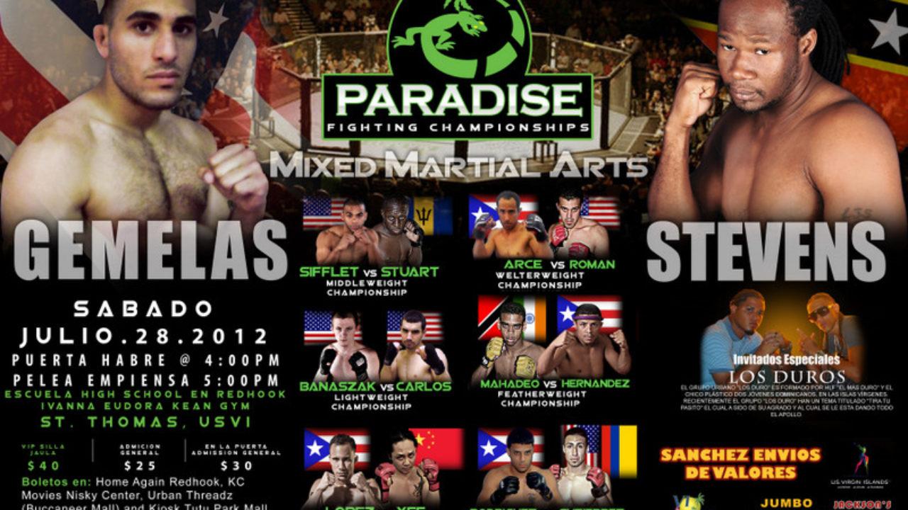 The Bajan Reporter   US Virgin Islands' MMA venue hosts Barbadian