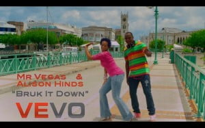 BRUK IT DOWN / PARTY TUN UP | MR VEGAS & ALISON HINDS | Directed by : JAY WILL / GAME OVER | Editor: KAO ARTS | MV MUSIC 2012