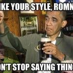 obama romney style