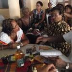 BARP President ED Vice Dame Billie meet Martinique group