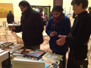 """Audience members in Amsterdam applause at lecture, """"St. Maarten Literature; Unheard Voices."""" (Bookish Plaza)"""