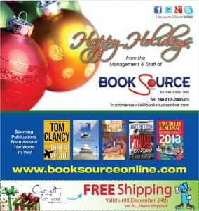 LIKE Book Source's Facebook page for your chance to win ANY book of your choice worth $150 BDS or less from ANYWHERE in the world! {CLICK FOR BIGGER}
