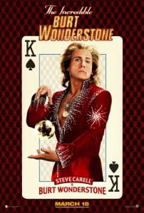 """{IMAGE VIA - whogottherole.com} After breaking up with his longtime stage partner, a famous but jaded Vegas magician fights for relevance when a new, """"hip"""" street magician appears on the scene."""