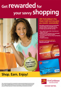 Shop smart this Christmas with your Visa Classic and Visa Gold Rewards Credit Cards. Earn rewards for every dollar you spend and choose how you redeem your points. {CLICK FOR BIGGER}