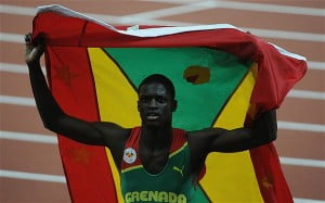 "Track and field has not been in the blood of Grenada fans when compared to Jamaicans who will climb mountains to support their athletes. For example, during the last four or five years, Grenada has participated in the popular Penn Relays held in Pennsylvania but it is easy to count the few Grenada flags at the Penn Relays. The first year Kirani James entered the Penn Relays an EVERYBODY'S representative met a high level New York-based Grenada government official and asked if he had attended the Penn Relays to support the Grenada contingency and he replied, ""What is the Penn Relays?"""