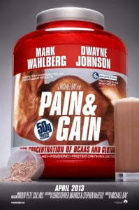 "{IMAGE VIA - hollywood.com} Based on a true story, ""Pain & Gain"" follows a group of bodybuilders who engaged in a campaign of kidnapping, extortion and murder in Florida."