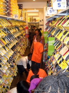 Payless' 2nd outlet in Barbados was abuzz with the children from Challenor and staff look forward to help the youngsters once again next year
