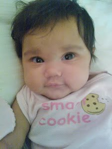 Baby Aimee at 4 months