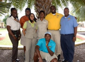 The tradition of rewarding our Caribbean resort's associates was upheld by holding raffles and a celebratory event at the conclusion of 2012. The awards were divided between three groups with each group having a final winner for the year 2012. Associates were nominated by their managers and peers during the entire year.