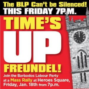The meeting is back on for tomorrow Friday at 7pm. They want you to be there to let Freundel know that his Time Is Up!