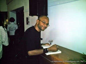 {CLICK FOR BIGGER: Author Sandiford at Spirit Bond in 2007 for Book launch} The programme, which will be conducted by the Division of Liberal Arts, runs from Monday, February 4 until Saturday, April 13.