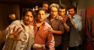 {IMAGE VIA - filmrejects.com} While attending a party at James Franco's house, Seth Rogen, Jay Baruchel and many other celebrities are faced with the apocalypse...