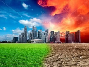 {IMAGE VIA - shutterstock.com} The most serious is global warming. While the global economy's weak performance has led to a corresponding slowdown in the increase in carbon emissions, it amounts to only a short respite. And we are far behind the curve: Because we have been so slow to respond to climate change, achieving the targeted limit of a two-degree (centigrade) rise in global temperature, will require sharp reductions in emissions in the future.