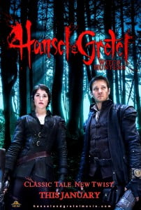 (IMAGE VIA - lefthandhorror.com) In this dark spin on the fairy tale, siblings Hansel and Gretel are a formidable team of bounty hunters who track and kill witches all over the world. {CLICK FOR BIGGER}