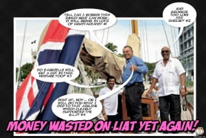 Will any Permanent Secretaries who are also Directors in LIAT be involved with this seafaring deal? It seems such questioning is not welcome? Must cut into eating shrimps instead of being straight-forward...