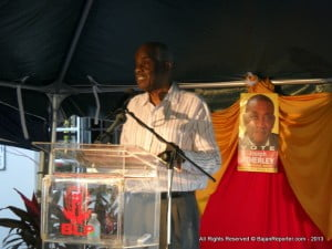 Sir Louis Tull gave the main address; his view was very stark and unflattering he openly pointed how any Caribbean PM holds sway while their Governor General is just a Figurehead, to prove his point, Sir Louis reminded folks how Queen Elizabeth II never refused a Cabinet Recommendation yet!