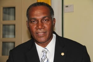 Premier of Nevis and Minister of Finance in the Nevis Island Administration Vance Amory announcing MP's wages reduced by 10% as his first act.