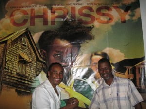 Author Eric Jerome Dickey & Chrissy Producer Dave Weekes at Olympus