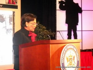 Trinidad and Tobago Prime Minister Kamla Persad-Bissessar officially announced defamation reform during a speech in Nov. 2012.  Her comments followed commitments made by the Trinidadian government during IPI's World Congress held in Port of Spain.