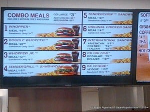 The Menu lists a Meal as the first price, the sandwich alone as a smaller price... So be not confused as I was originally!