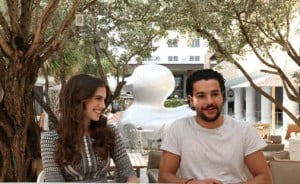 Two of the show's stars, Allison Williams and Christopher Abbott (Marnie and Charlie, respectively), spoke to press about their roles in the hit comedy.