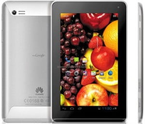 This is a tablet which offers a 7 inch IPS display, 4G connectivity and Wi-Fi support, 1080p Movie Playing which Huawei calls a theater-like experience, all in a specialised shell using a silvery metallic casing which is designed not to feel slippery, yet ease of movement.