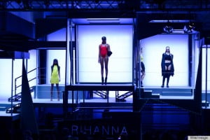 {Wired Image Via Huff-Po} The question is: What did you think of Rihanna's debut collection for River Island?
