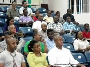A large segment of Barbadian youth attended, even more than is usually found at current Election rallies at the moment.