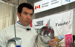Rick visits the national training centre in Montreal, Quebec to learn from Canada's top fencer Sandra Sassine.