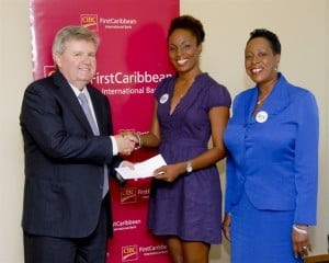 CIBC FirstCaribbean, here represented by CEO Rik Parkhill, has entered into an MOU with the YWCA, represented by Tamara Brathwaite, Treasurer, and Paige Bryan, President, to support the work of its Breakfast Club for three years.