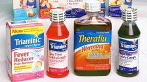 {IMAGE VIA -wbur.org} Voluntary recall of certain lots of Triaminic® Syrups, Theraflu Warming Relief® Syrups, Jack & Jill® brand pediatric syrups and Buckley's ® Complete Liquids, issued to consumers, retail customers and wholesalers in Barbados