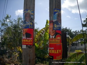 No matter what you say, when Fumble dragged the date of elections for so long, he alienated everyone including his own team. Then once the bell was rung, the Bees tripped over themselves getting their quasi-legal Billboards distributed and stapling posters even to palm trees along Belleville and by Sagicor while the DEM's were scrambling to hoist theirs... Has the time come to bell the PM, as Arthur Holder asked in Bank Hall not so long ago - who would be brave enough to do so?