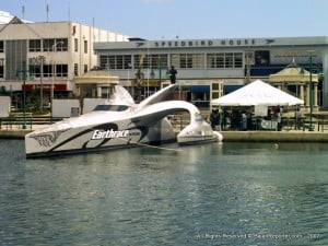 {FILE IMAGE - Bridgetown 2007} I've spent much of the last year traveling, developing plans that will see us back out on the ocean again soon, thanks to our new Sealegs amphibious vessel.