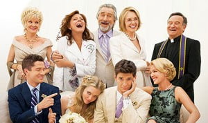 With an all-star cast lead by Diane Keaton, Robert De Niro, Susan Sarandon, Robin Williams, Katherine Heigl, Amanda Seyfried and Topher Grace, THE BIG WEDDING is an uproarious romantic comedy about a charmingly modern family trying to survive a weekend wedding celebration that has the potential to become a full blown family fiasco.