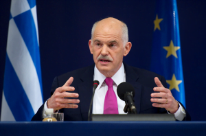 {IMAGE VIA -thelondoneveningpost.com} George A. Papandreou is President of the Socialist International