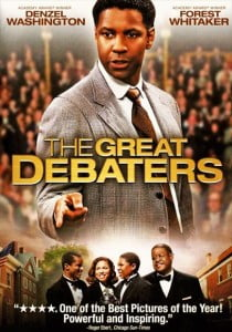 Directed by and starring Denzel Washington, the Golden Globe-nominated film revolves around the true story of the efforts of a debate coach at the historically black Wiley College in the 1930's.