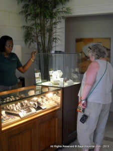 (CLICK FOR BIGGER) Between chukkas pay a visit to Colombian Emeralds - log on to BajanReporter.com and print the Front Page with their Ad and get a free gift with your Purchase...