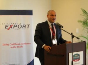 """Gomez further added that it continues to be """"… important for the initiative to be understood within the broader context of the programme of private sector development being undertaken by Caribbean Export and that it is only one in a number of programmes and initiatives that have been refined and that will be made available over the next few years."""""""