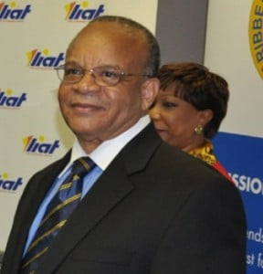 """{IMAGE VIA - bvinews.com} """"The cause of regional integration has lost a great champion with his passing; however, his dedication to service in the region will always be remembered,"""" Dr. Holder said in his letter."""